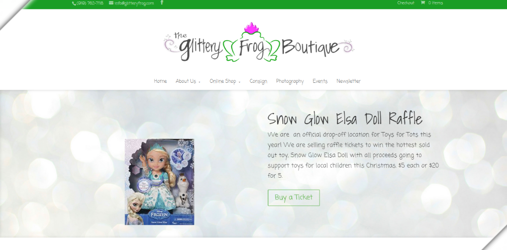 Glittery Frog Boutique