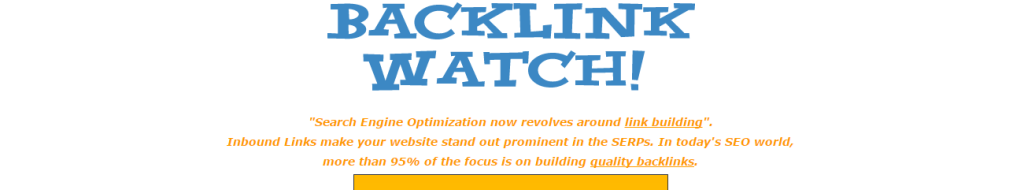 Backlink Watch Checker