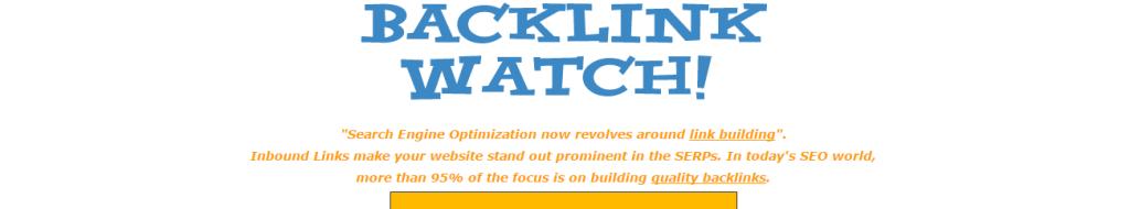 Backlink Watch Checker