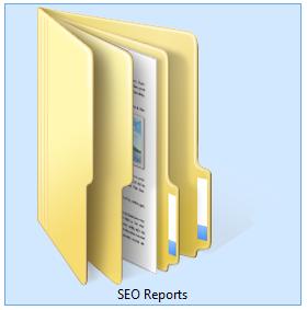 seo reports folder