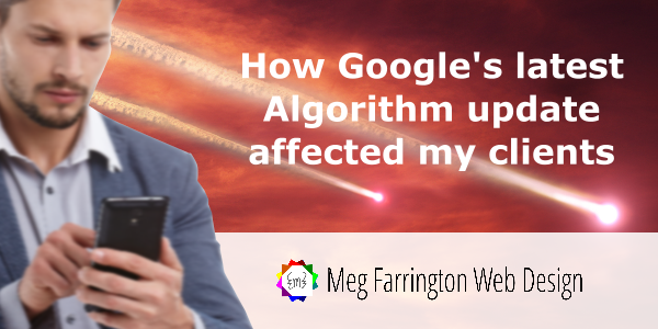 How the new Google Mobilegeddon algorithm update affected my clients